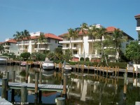 Waterfront homes in Park Shore area of Naples, Florida