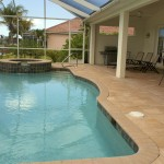 screened swimming, Southwest Florida house