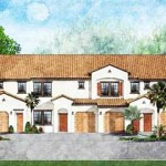 New home construction in Livingston Lakes, Naples, Florida