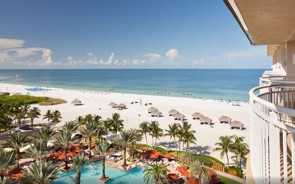 Marriott Marco Island View Of Sundeck And Gulf Mexico Photo Www