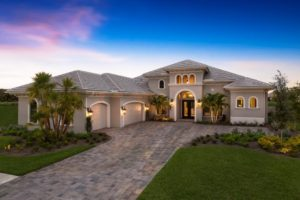 Regency Manor new home by Stock Homes at Twin Eagles in Naples, Florida