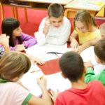 Model Collier County Schools - elementary school children working in a group