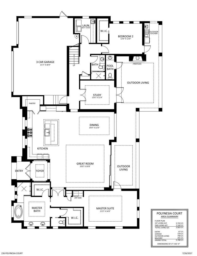 Stock Signature Homes Marco Island Polynesia Model | David Critzer