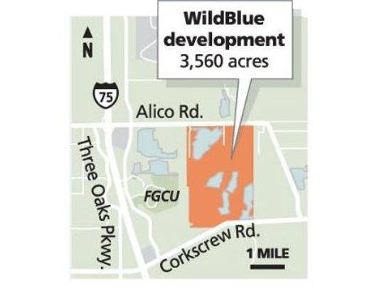 Map Of Estero Florida.Wildblue Community Coming To Corkscrew Road David Critzer