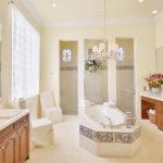 Luxurious master bath - Contact David Critzer to buy this elegan home at 28608 via D Arezzo in BOnita Springs - naplesbonitamarco.com