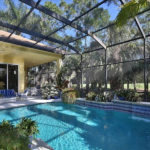 Pool and lanai - Contact David Critzer to buy this elegan home at 28608 via D Arezzo in BOnita Springs - naplesbonitamarco.com